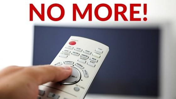 No More Tv