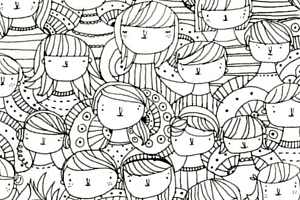 Colouring Book image freebie page - Free Stuff