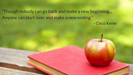 Quote Chico Xavier new beginnings as a single mum