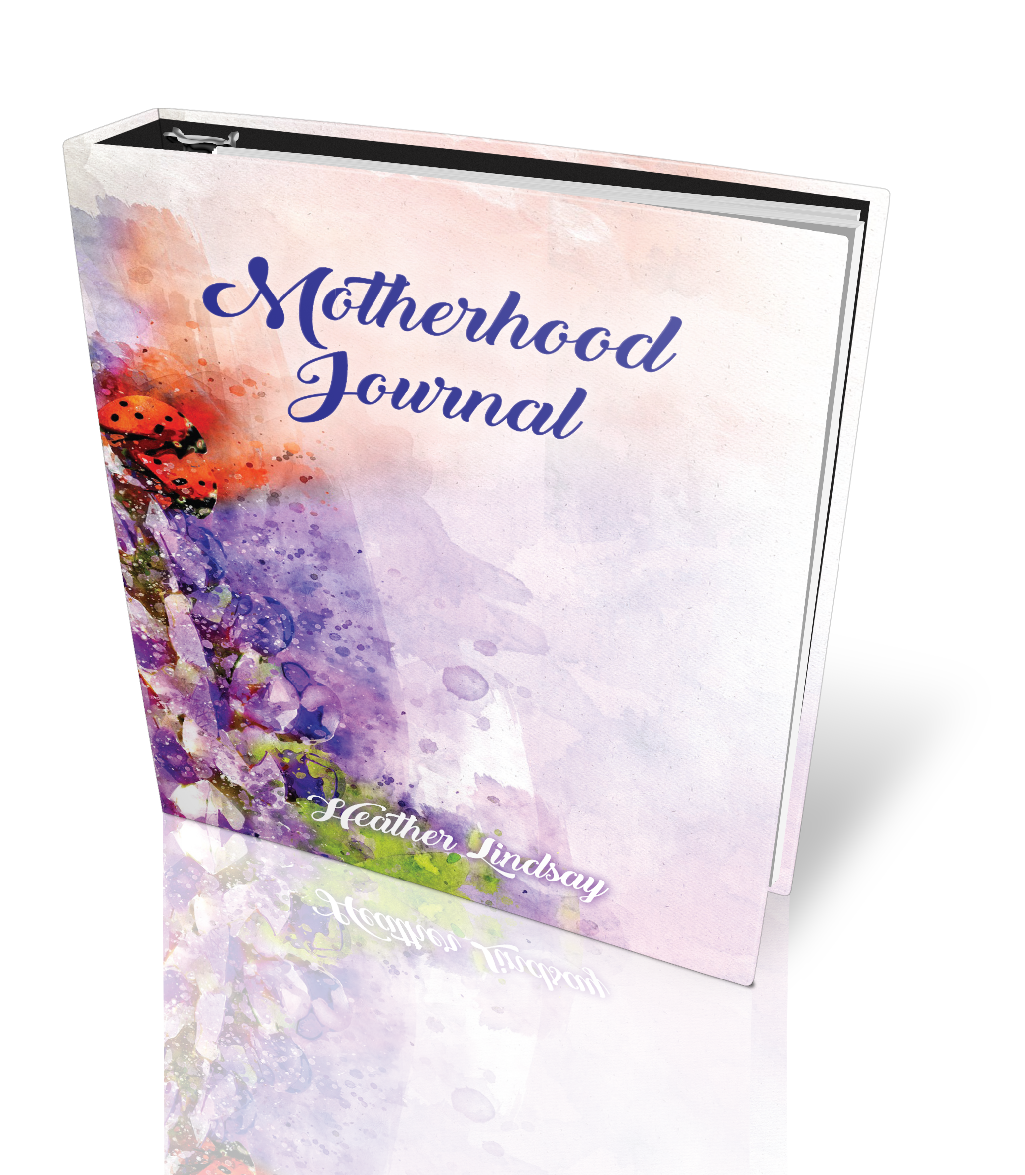 MotherhoodJournal front - Motherhood Journal Pre-Sale