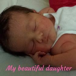 My beautiful daughter - Post-Natal Depression Treatment Program