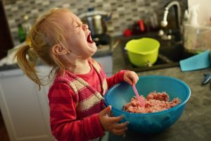 Upset Toddler In Kitchen 300x200 - toddler tantrums
