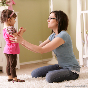 istock lugo 3 mother talking with toddler girl c1 - good parenting skills blog mother talking to daughter