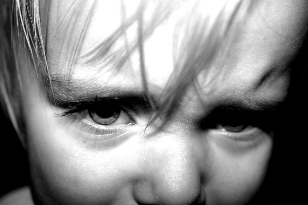 how to teach a child not to be angry