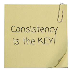 Consistency is the KEY 300x300 - Consistency is the KEY!