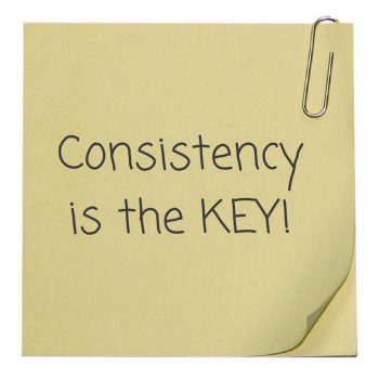 Consistency is the KEY 350x350 - 5 Things Good Parents Do To Emotionally Harm Their Children
