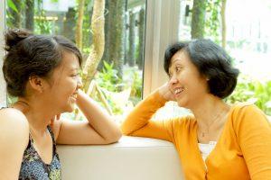 shutterstock 70239964 300x200 - daughter talking with mum