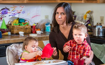 parenting hacks for busy mums