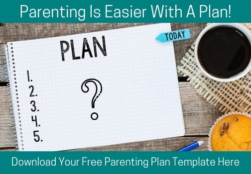 Parenting Plan Blog Graphic - 9 Ways to Support Child Development