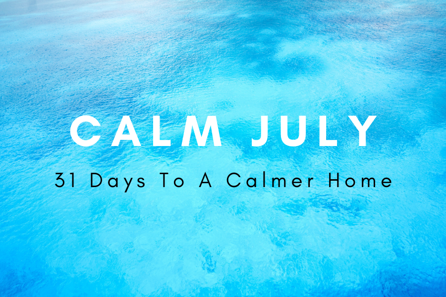 Calm July Sales Page Header - Calm July