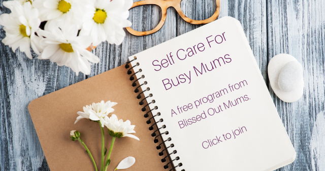 Self Care For Busy Mums Ad Graphic 640x336 - Enjoying Family Time When You're Not Into It.